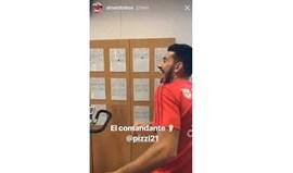 Pizzi está de volta ao trabalho