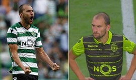 Leão mostrou as duas camisolas diante do Monaco