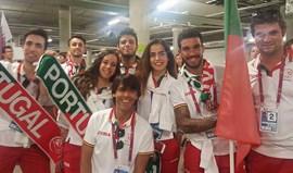 Portugueses em boa posição na patinagem artística dos Jogos Mundiais