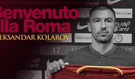 Oficial: Kolarov troca Man. City pela Roma