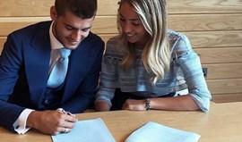 Alice Campello deseja sorte a Morata