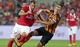 A crónica do Benfica-Hull City, 0-1: Não é necessário disparar o alarme
