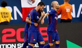 Barcelona derrota Juventus na estreia de Nélson Semedo