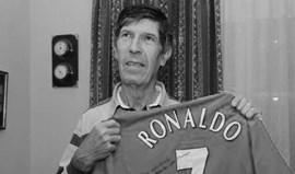 Morreu primeiro treinador de Cristiano Ronaldo