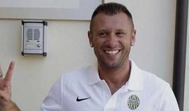 Cassano arrependeu-se (novamente) e... deixou o Hellas Verona
