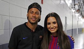 Neymar e Demi Lovato: Do Instagram para a vida real