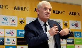 Grécia: Líder do AEK pediu águia Vitória ao Benfica