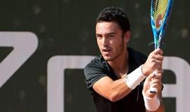 Gonçalo Oliveira cai na primeira ronda do 'challenger' de Cortina