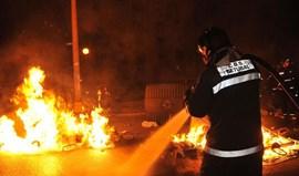 Incêndio em Setúbal ameaça hospital