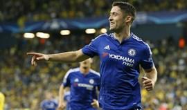 Gary Cahill nomeado capitão do Chelsea