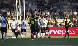 Coates viu vermelho direto diante do V. Guimarães