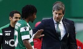 Pagar milhão e meio para exigir... 100: Bruno de Carvalho 'blinda' Gelson Martins