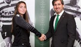 Carolina Vilão reforça o Sporting