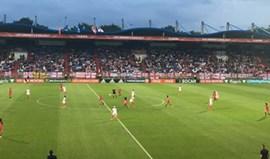 Portugal-Inglaterra, 1-2: Seleção eliminada do Europeu