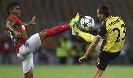 Botev-Marítimo, 0-0: Ainda sem ordem para descolar