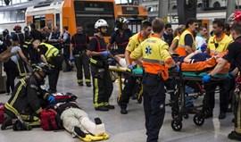 Acidente ferroviário em Barcelona faz pelo menos 48 feridos