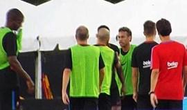 Confronto físico entre Neymar e Nélson Semedo gera tensão no Barcelona