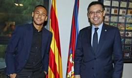 Bartomeu: «PSG tem de pagar até ao último cêntimo para ter Neymar»