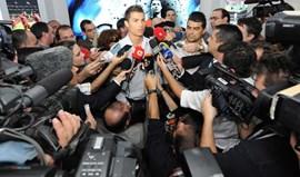 Mais de 125 jornalistas 'em cima' das declarações de Ronaldo