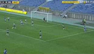 Golaço de André Sousa adiantou Belenenses diante do Sporting