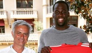 Draymond Green fez questão de ir conhecer José Mourinho