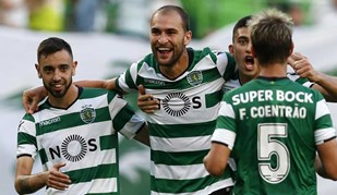 As notas dos reforços do Sporting: Bruno Fernandes continua em grande e Acuña promete