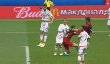 'Golpe de karaté' de Pepe deu empate à Seleção à beira do fim
