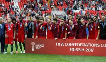 Um ano depois, Portugal volta a receber medalhas