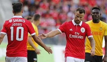 A nota dos reforços do Benfica: Só Seferovic aproveitou...