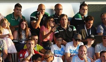 Bruno de Carvalho ficou na bancada... e com reforço