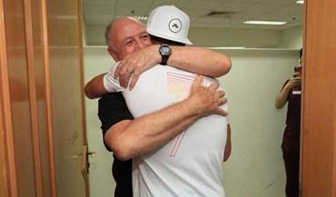Assim foi o emotivo reencontro de Ronaldo e Scolari