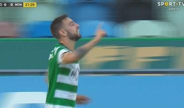 Foi assim que Bruno Fernandes se estreou a marcar em Alvalade