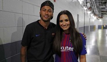 Neymar arrasou a Juventus e acabou a noite... em boa companhia
