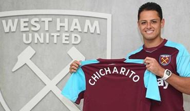 West Ham garante Chicharito por 17,9 milhões