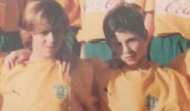 Estes dois miúdos do Sporting vão-se 'separar'...