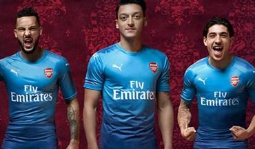 Arsenal vai estrear a sua nova camisola diante do Benfica