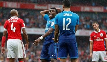 As melhores imagens do Arsenal-Benfica