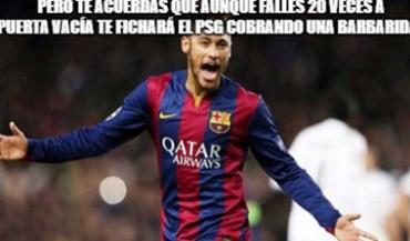 'Memes' do El Classico deram para tudo: de Neymar aos tweets de Piqué até... à dentada de Suárez