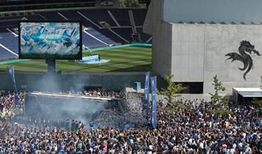 As melhores imagens da festa de apresentação do FC Porto