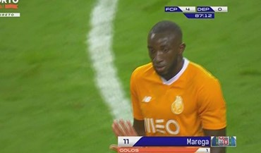 Deportivo voltou a facilitar e Marega fez das suas