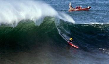 Alex Botelho quinto no México no circuito mundial de ondas grandes