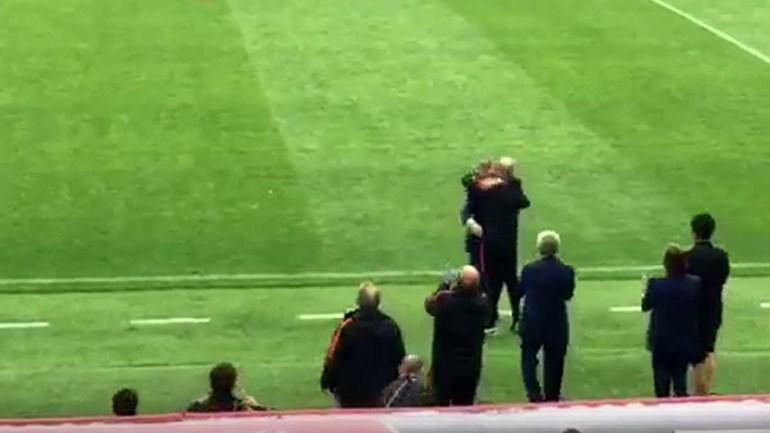 Como o banco da Seleção e Fernando Santos viveram o último minuto do prolongamento