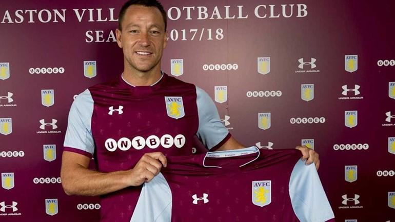 Aston Villa contrata veterano John Terry por uma época