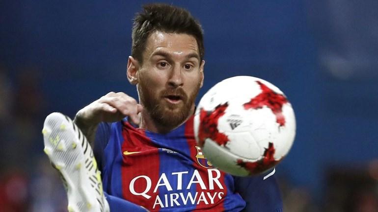 OFICIAL: Barcelona anuncia acordo de renovação com Messi