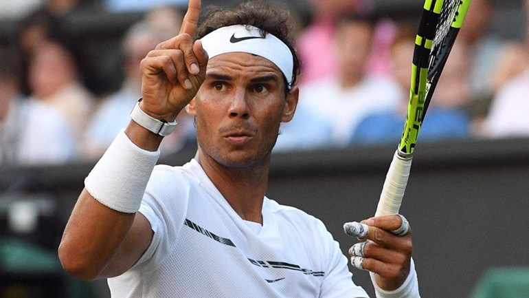 Nadal qualifica-se para a terceira ronda — Wimbledon