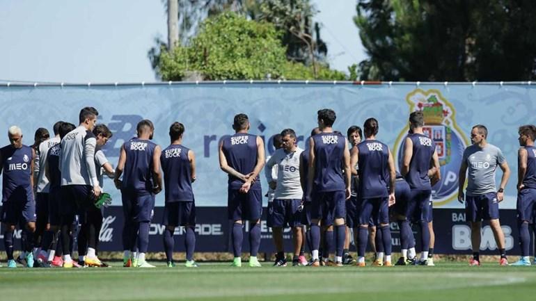 FC Porto regressa esta segunda-feira ao trabalho com treino matinal