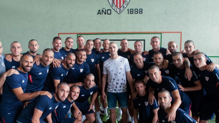 O gesto mais nobre dos jogadores do Ath. Bilbao