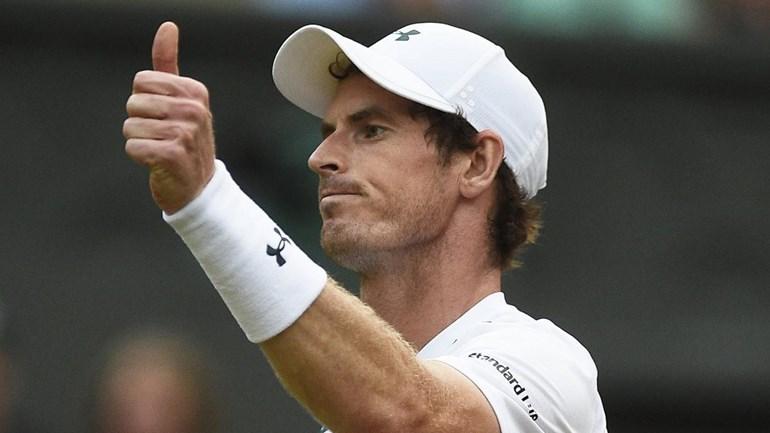 Andy Murray bate Fabio Fognini e está nos 'oitavos'