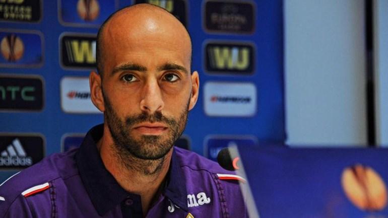 Borja Valero em Milão para assinar pelo Inter