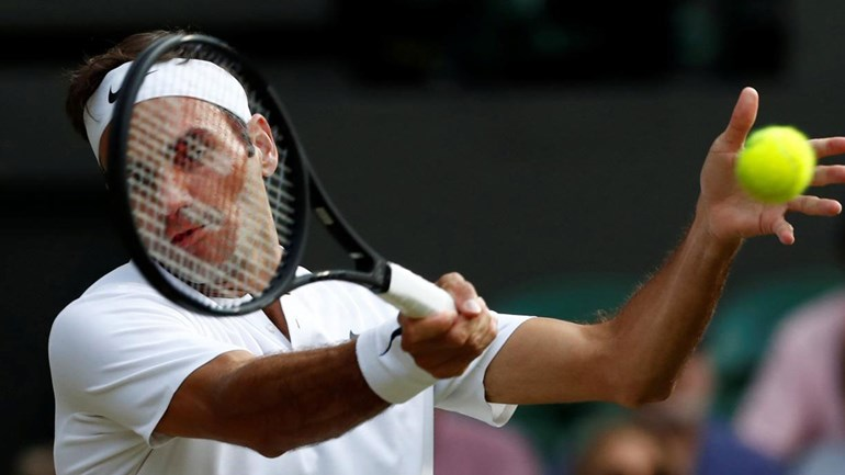 Federer confirma favoritismo sobre Dimitrov e vai às quartas em Wimbledon